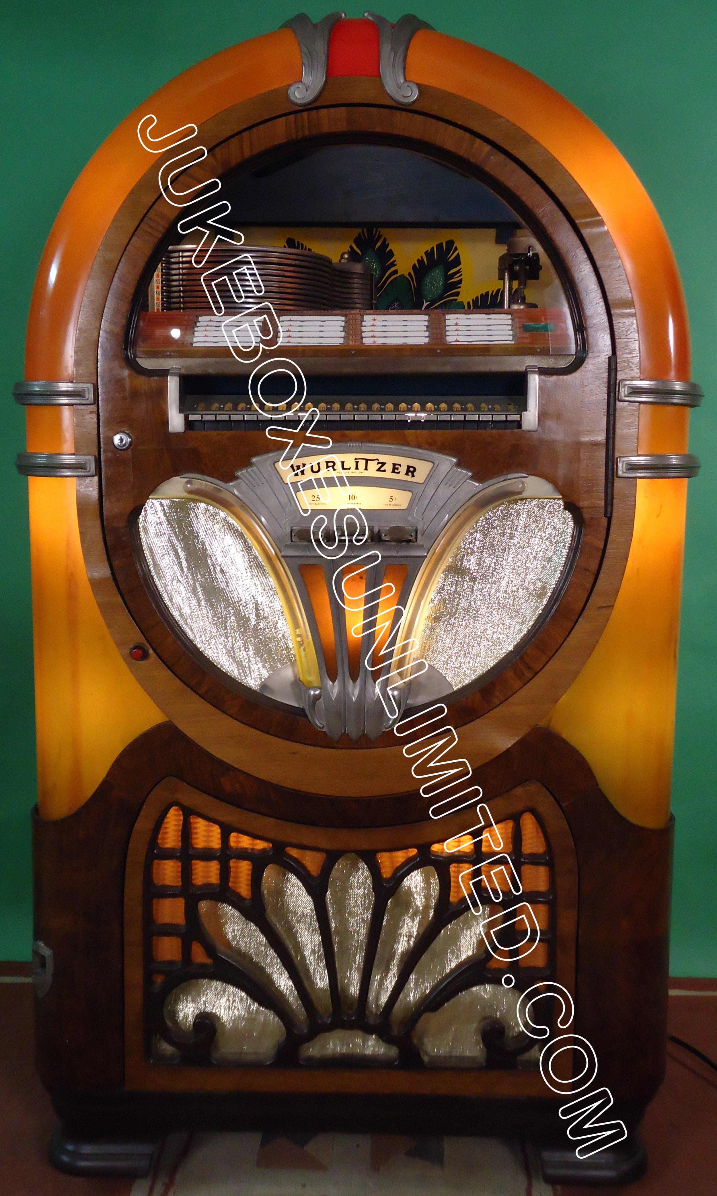 SOLD! Wurlitzer Jukeboxes 1
