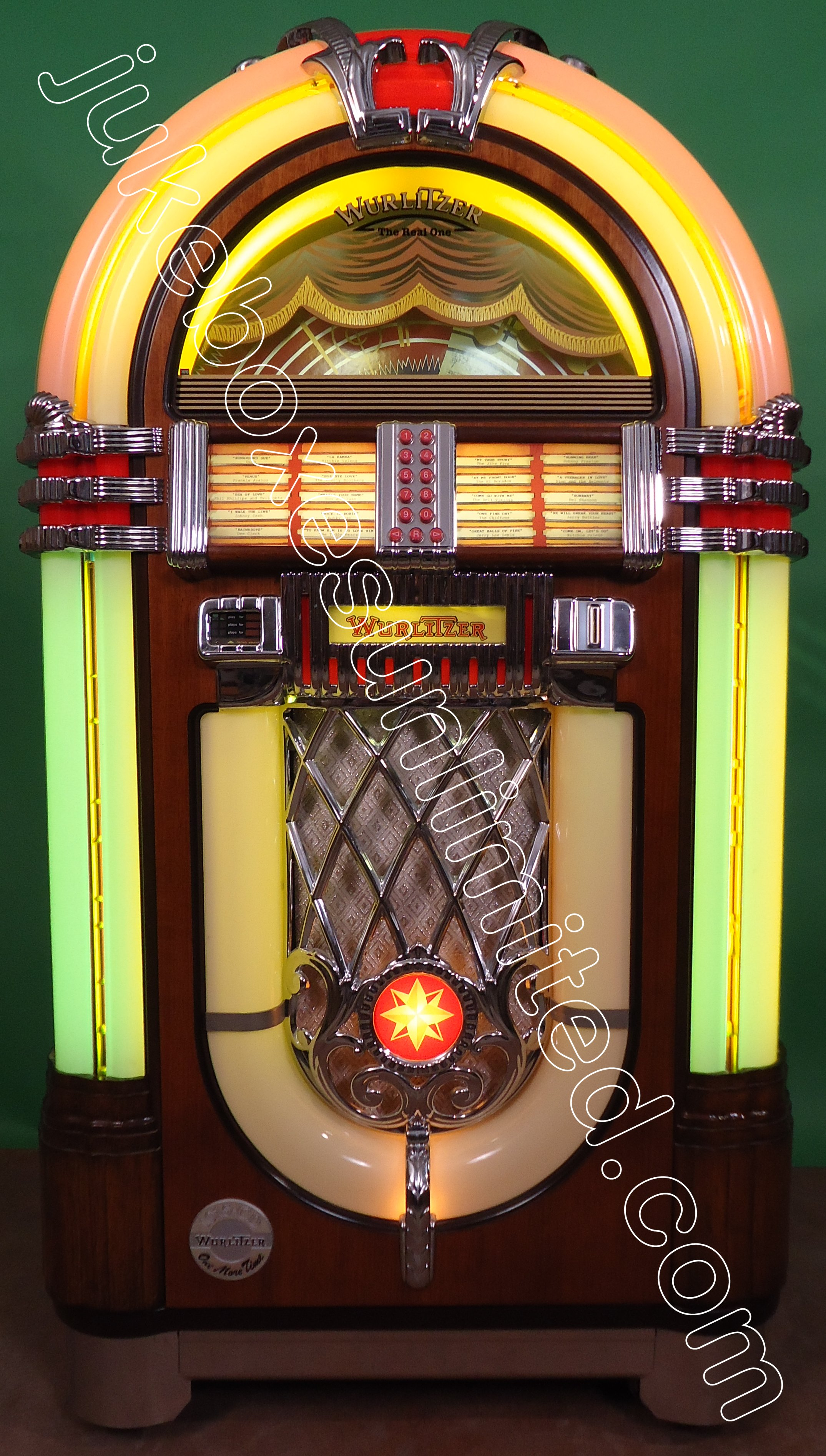 sold wurlitzer jukeboxes 1. Black Bedroom Furniture Sets. Home Design Ideas